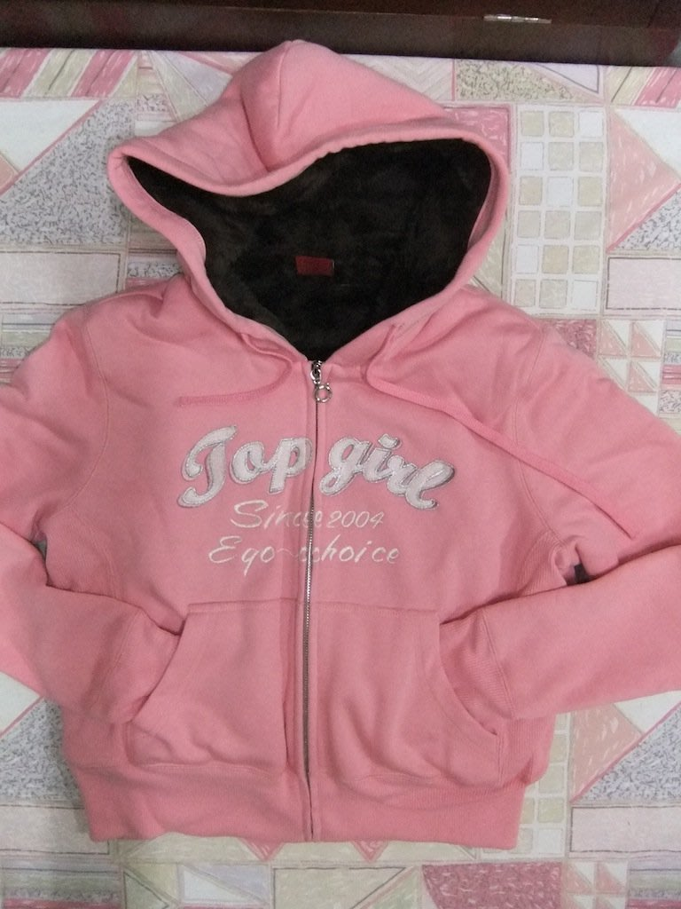 TOP GIRL 全新粉色斷貨款毛裡外套