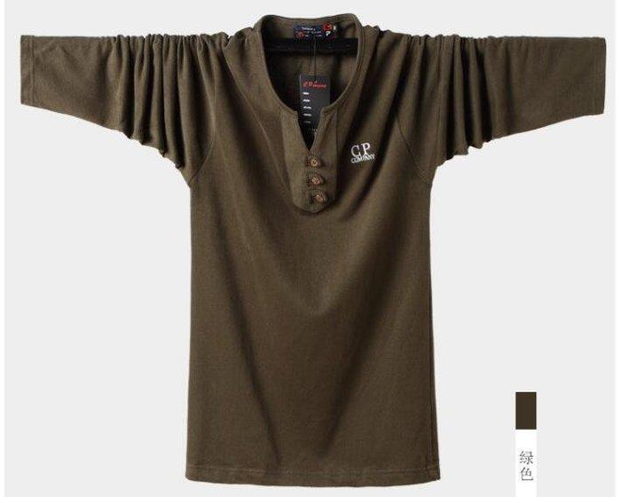 韓系長袖T恤歐美 大碼純棉V領打底衫 100KG可穿 Y251