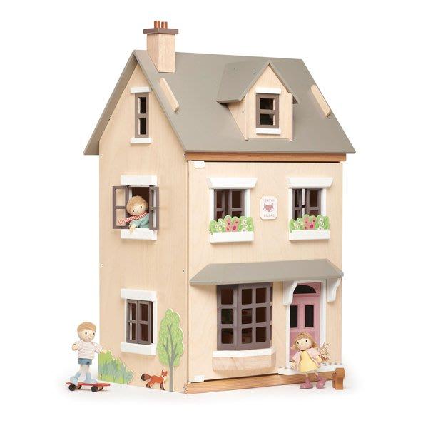 孩子王 生活館【美國Tender Leaf Toys】夏日度假別墅(經典娃娃屋)