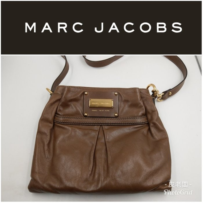 【皮老闆】二手真品 美國精品 Marc Jacobs 手提包 肩背包 A3