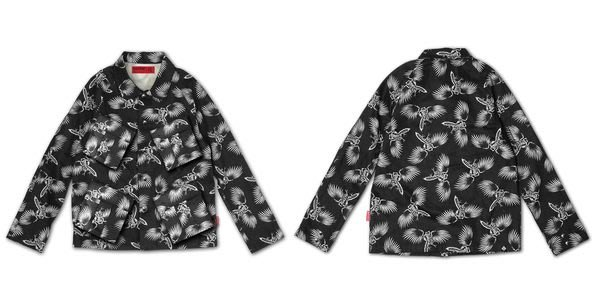 { POISON } DeMarcoLab x B-SIDE ARCHAIC RAGE JKT 軍裝外套傳統工作夾克