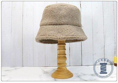 ✿小布物曲✿手作毛毛漁夫帽 精巧手工車縫製作 高級進口布料質感超優 遮陽 保暖