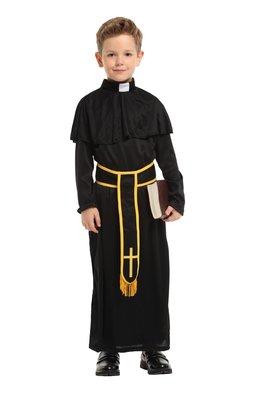 乂世界派對乂萬聖節服裝,萬聖節服飾,變裝派對,兒童變裝服-兒童傳教士服裝-高貴小傳教士