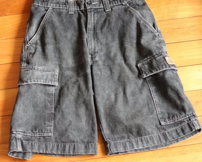 polo jeans 男牛仔短褲 黑色29腰
