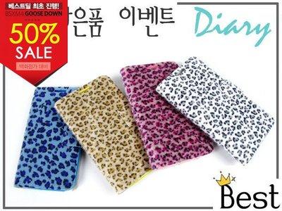 蝦靡龍美【SA035】KOREA 韓國手工豹紋高級絨布皮套 軟殼 Samsung S2 S3 Note 2 N7100