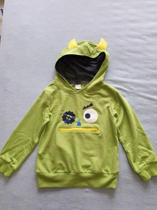 麗嬰房 綠色惡魔帽T  4A