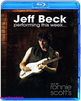 高清藍光碟 Jeff Beck Performing This Week Live (藍光BD50)