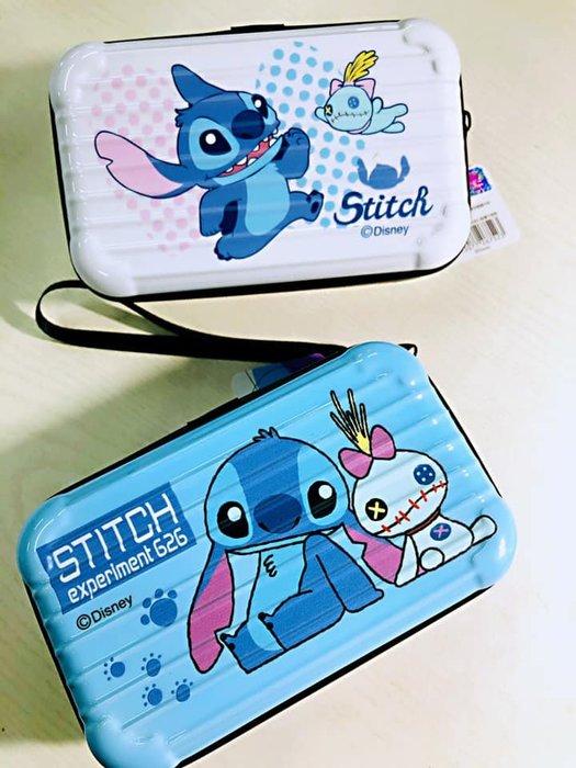正版授權 史迪奇 3C相機包 行李箱包 手提化妝包 迪士尼 收納盒