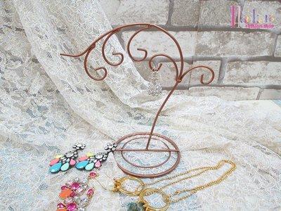 ☆[Hankaro]☆創意鐵藝樹枝造型首飾架(樣品出清)