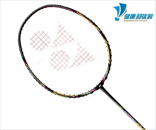 [健康羽球館] YONEX NANORAY 科技系列羽球拍 NANORAY 800 (NR 800) 黑桃粉