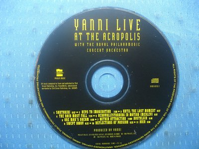 [無殼光碟]GO  Yanni  Live at the Acropolis [Bonus Track]
