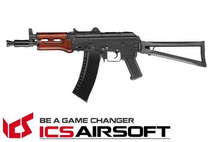 【翔準軍品AOG】ICS MAR SU(黑)折疊托 長槍 電動槍 步槍 生存遊戲 ICS-34