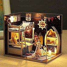 模型屋迷你diy小屋模型屋手工制作拼裝玻璃球小房子生日禮品送女生玩具 【1件免運】