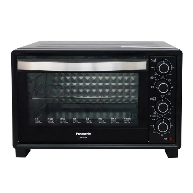 ㊣優惠內洽便宜㊣Panasonic國際牌32L雙溫控發酵電烤箱【NB-H3203】另售NC-A700 MC-BD585