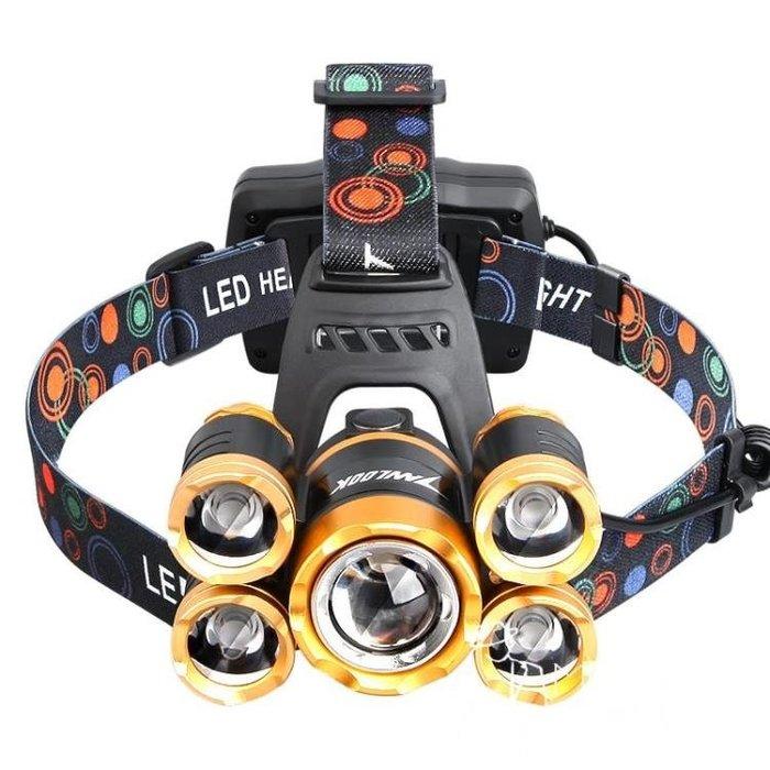頭燈/手電  感應頭燈強光充電防水LED頭戴式手電筒超亮3000米夜釣魚抓捕蝎子