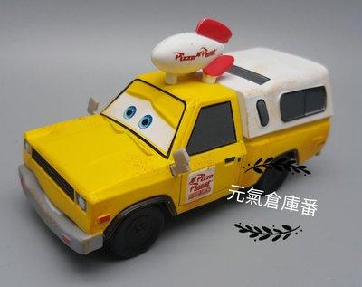 迪士尼 皮克斯 玩具總動員  pizza車 披薩車 批薩車 乾淨版 (重合金材質 合金車 非塑膠 )