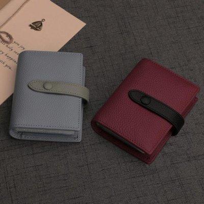 店長嚴選Ouliss真皮卡包女牛皮多卡位韓國可愛頭層牛皮信用卡片包名片包
