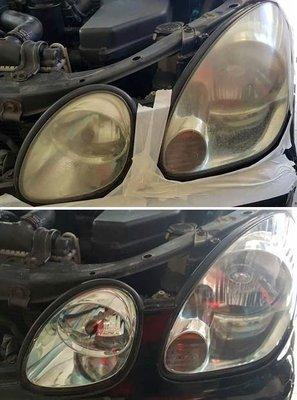 大燈快潔 LEXUS 凌志 AS200 IS200 GSE20 IS250 原廠大燈泛黃霧化拋光翻新處理