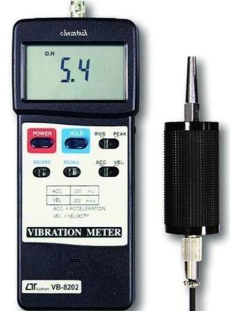TECPEL 泰菱 》LUTRON 路昌 VB-8202 振動計 速度 加速度 位移 震動