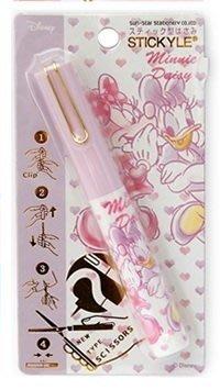 【三元】日本進口 Disney 迪士尼 隨身迷你筆型剪刀 收納剪刀 攜帶式剪刀_現貨 米妮黛絲