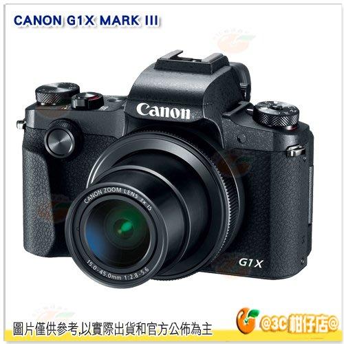 缺貨 @3C 柑仔店@ Canon G1X MARK III 平輸繁中一年保固