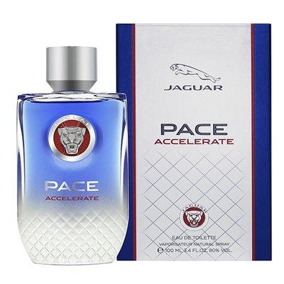 ☆MOMO小屋☆ Jaguar Pace Accelerate 極限捷豹男性香水 100ml 搭贈 巴莎沐浴精250ml