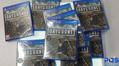 SONY PS4 往日不再 中文版 冒險類遊戲 單機一人 台南 PQS 免運費