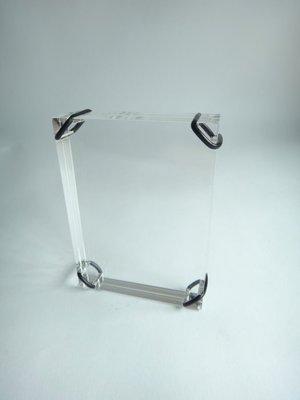 【繽紛日記】只有一個,拍立得時尚經典極簡方形水晶相框,錯過可惜。
