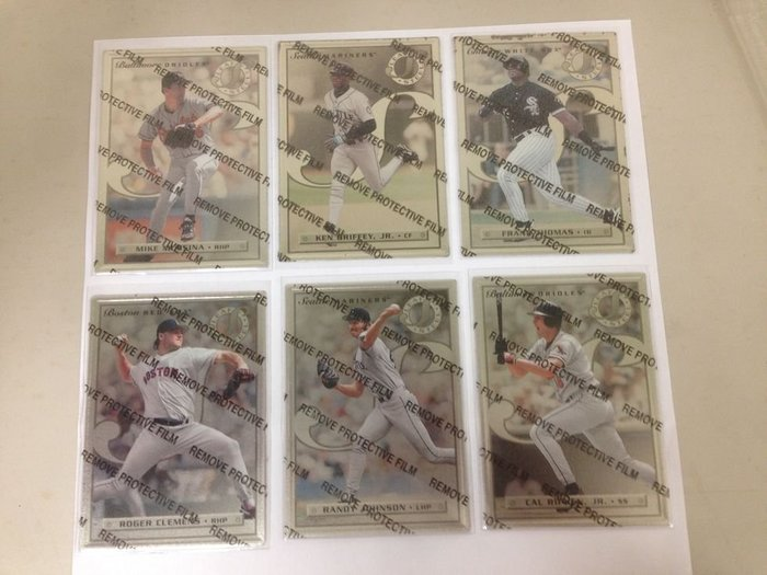 MLB 鋁板卡