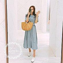 【ZEU'S】韓國學院風休閒百搭洋裝『 06117517 』【現+預】FA
