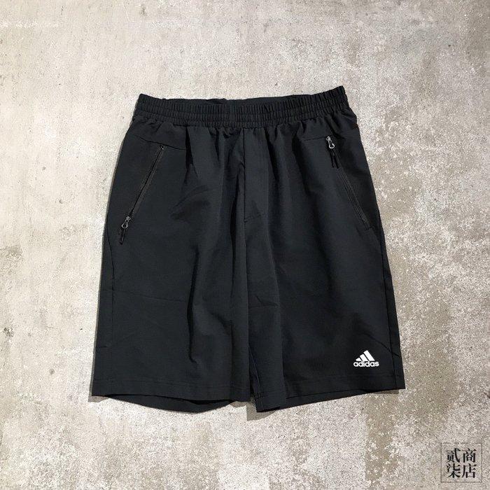 (貳柒商店) adidas Amplifie Shorts 男款 黑色 短褲 運動褲 防風 DZ1992