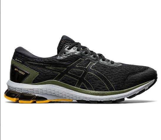 【一軍運動用品-三重店】ASICS 亞瑟士 慢跑鞋 黑色 GTX(防水) 1011A889-001 (4080)