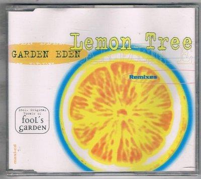 [鑫隆音樂]西洋單曲-GARDEN EDEN : Lemon Tree {724387845022}全新/免競標