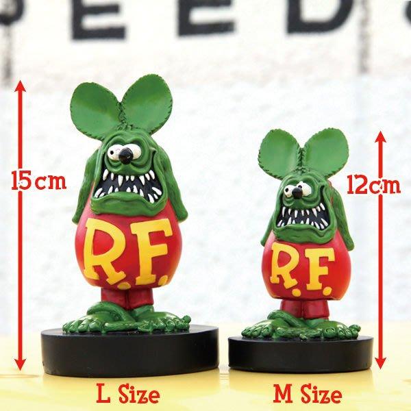 (I LOVE樂多)(新品)RAT FINK Bobbing Dolls屁股搖擺老鼠芬克公仔M尺寸 RF值得你收藏