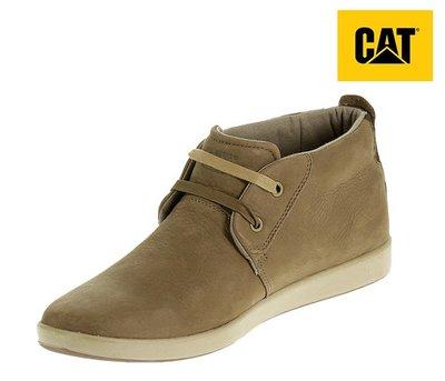 丹大戶外【Cat】美國卡特 男鞋 休閒皮鞋 719050 淺棕