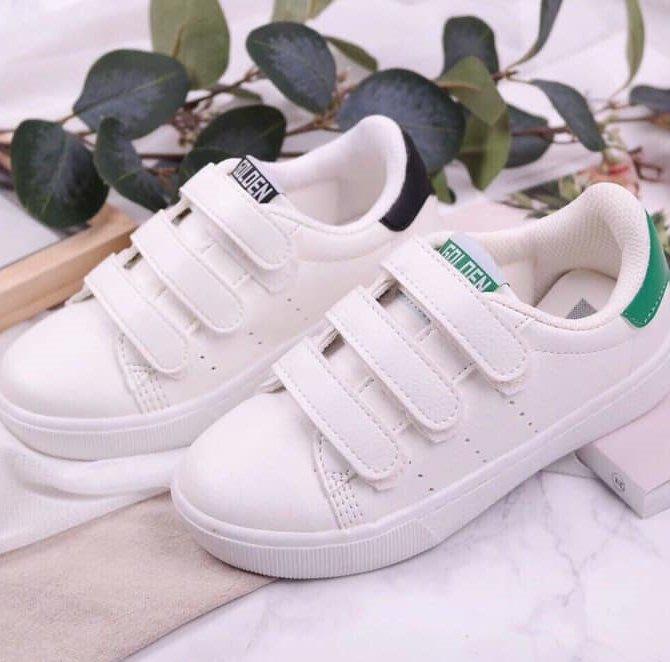 『※妳好,可愛※』 妳好可愛韓國童鞋 正韓 經典款運動板鞋 兒童板鞋 兒童休閒鞋 魔鬼氈休閒鞋 韓國童鞋