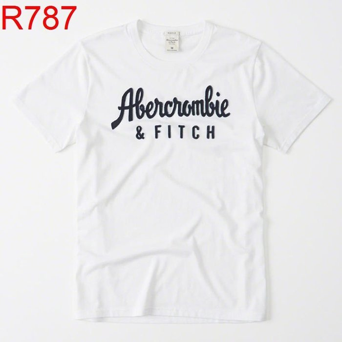 【西寧鹿】AF a&f Abercrombie & Fitch HCO  T-SHIRT 絕對真貨 可面交 瑕疵品 R787