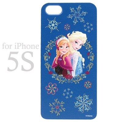 尼德斯Nydus~* 日本正版 冰雪奇緣 Anna 安娜  硬殼 手機殼 保護殼 iphone5 5s 日本製