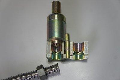 6分 波紋管平管器熱水管敲波器壓平器ST不鏽鋼軟管擴管器壓模器白鐵波紋管打擊平口器 波紋管口接頭製作過程圖示