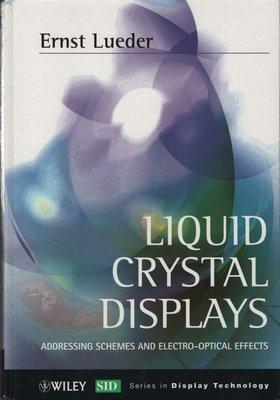 蒼穹書齋: 約八成新 有染色有撞到\Liquid Crystal Displays\Wiley\滿額享免運優惠