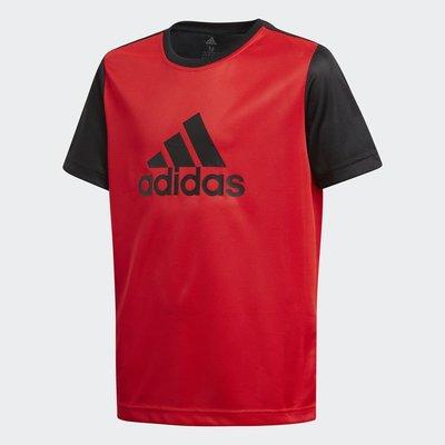 Look 鹿客 adidas 青年童裝 男 短袖上衣 DJ1188