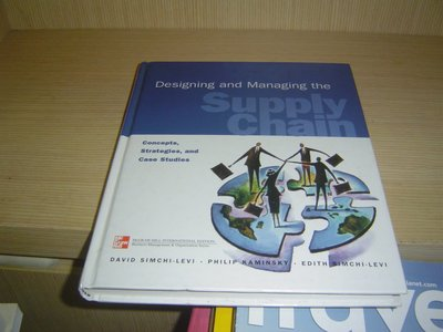 G9-8【參考書】Designing and Managing the Supply Chain 供應鏈有光碟