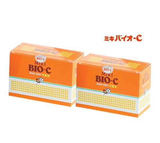 松柏C粉 最便宜 MIKI寶而喜富含玫瑰果 補充維生素C+鈣C 日本三基 一套兩盒240包 西粉 效期2022.3.3