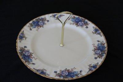 ❃A&EJ Studio❃英國製骨瓷皇家亞伯特Royal Albert🌹鑲金月光玫瑰花點心架【庫存新品】