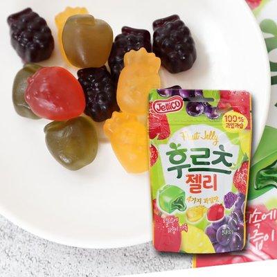 韓國 jellico 水果夾心軟糖 50g 【庫奇小舖】【F122】
