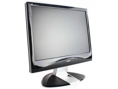 大台北 永和 二手 中古 螢幕  22吋螢幕 VIEWSONIC  16:10 外觀漂亮