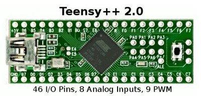 Teensy 2.0++ USB AVR開發板 鍵盤滑鼠 ISP U盤實驗板AT90USB1286 W177.0427