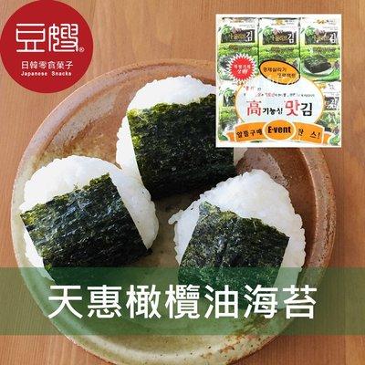 【豆嫂】韓國零食 天惠12入海苔