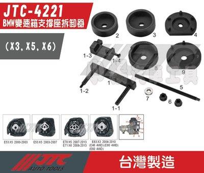 【小楊汽車工具】JTC 4221 BMW 變速箱支撐座拆卸器(X3,X5,X6) / 適用 E83 E53 E70