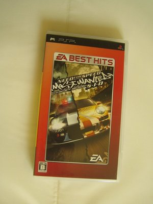 PSP 極速快感 Need For Speed Most Wanted 5-1-0